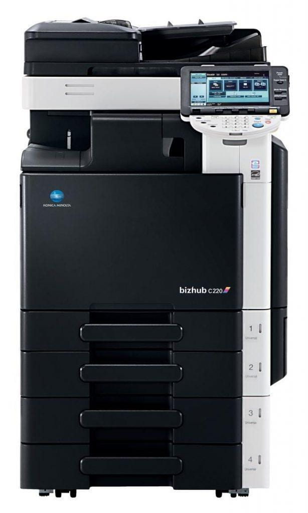 Konika Minolta printer repairs