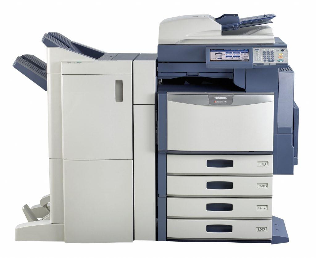 Toshiba printer repair